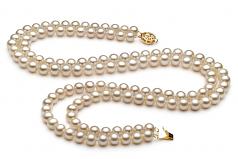 Liska Blanco 6-7mm Calidad AA Conjunto de Perlas de Agua Dulce