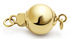 Bola - 14k oro amarillo