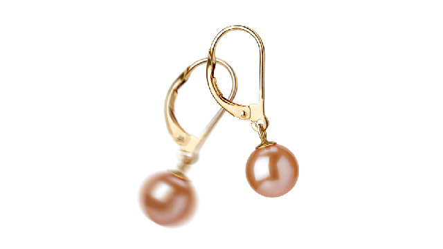 View Pink Freshwater Pearl Earrings collection