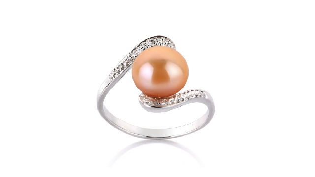 View Pink Freshwater Pearl Rings collection