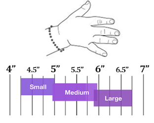 Children bracelet sizes