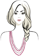 Rope necklace length guide